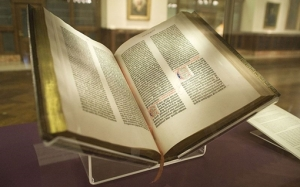 The Gutenberg Bible New York Public Library, 2009. (Author NYC Wanderer (Kevin Eng))