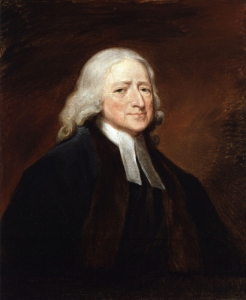 """John Wesley,"" by the English artist George Romney, oil on canvas. Courtesy of the National Portrait Gallery, London."