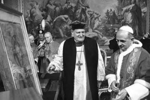 Archbishop Ramsey meeting Pope Paul VI (photo from httpdstp.rel.pl )