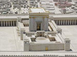 The Second Temple. Model in the Israel Museum. Photo by Ariely