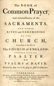 Book of common Prayer 2