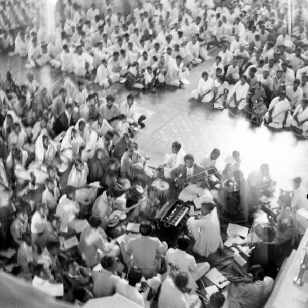 Inauguration service of Church of South India. Photo by Mark Kauffman (LIFE magazine)