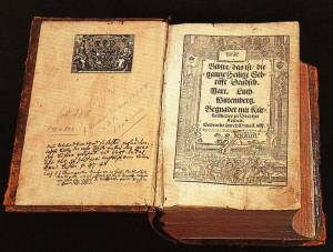 Martin Luther Bible