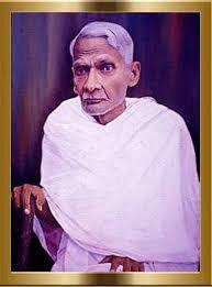 C.V. Kunhiraman, (Potrait at Sahitya Akademi Thrissur- Photo by NandakumarThottathil)