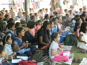 Children at the 120th Maramon Convention Pandal. Photo Courtesy: Photo Courtesy http://marthoma.in/maramon-convention