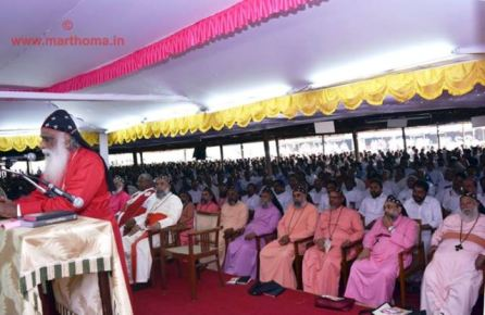 Opening day at the Maramon Convention - Photo Courtesy http://marthoma.in/maramon-convention